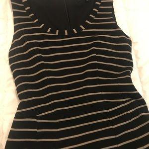 Nanette Lepore Dresses - Nanette Lepore Striped A line Dress Size 2